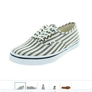Unisex VANS Authentic Lo Pro Striped Sneakers